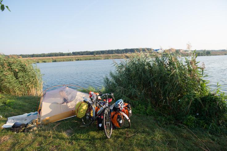 Lakeside in Romania