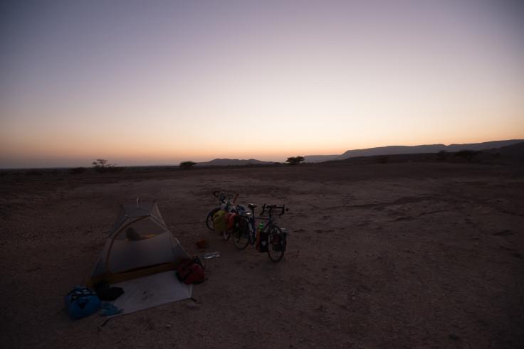 Dusk in the desert