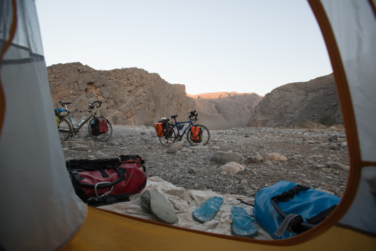 Wadi View in Oman