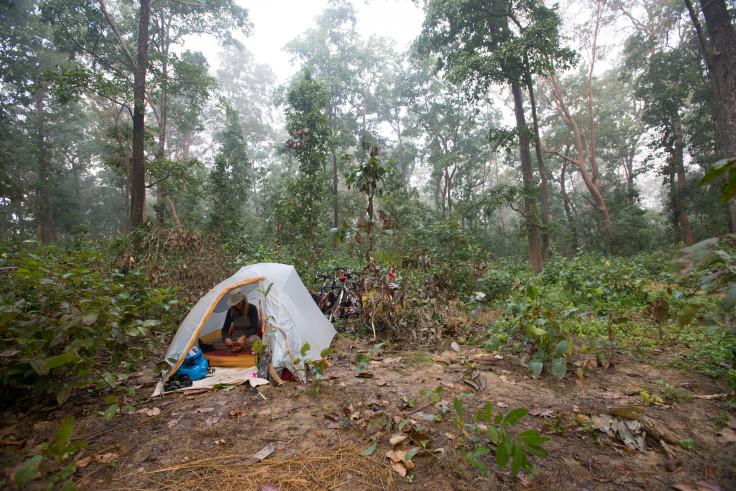 Jungle Camping in Nepal