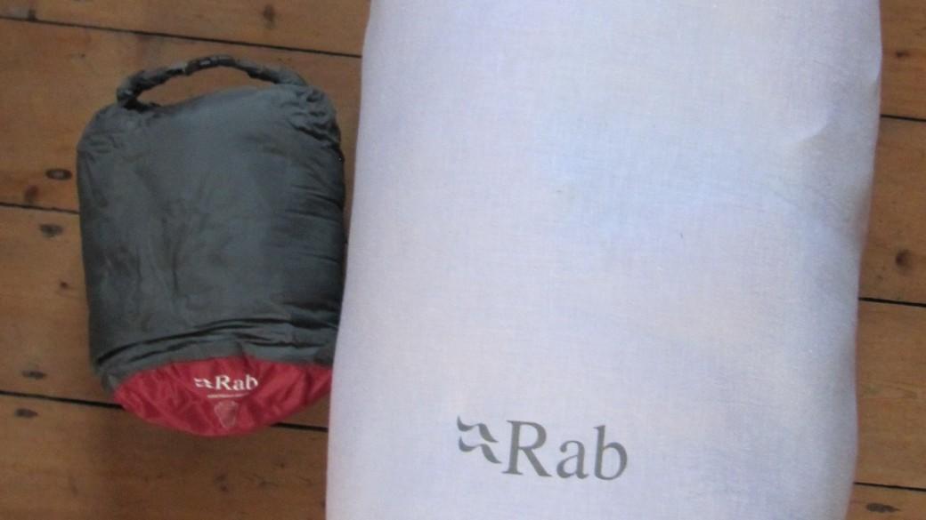premium selection 86cc2 d5590 Review: RAB Neutrino 600 sleeping bag | Punctures & Panniers