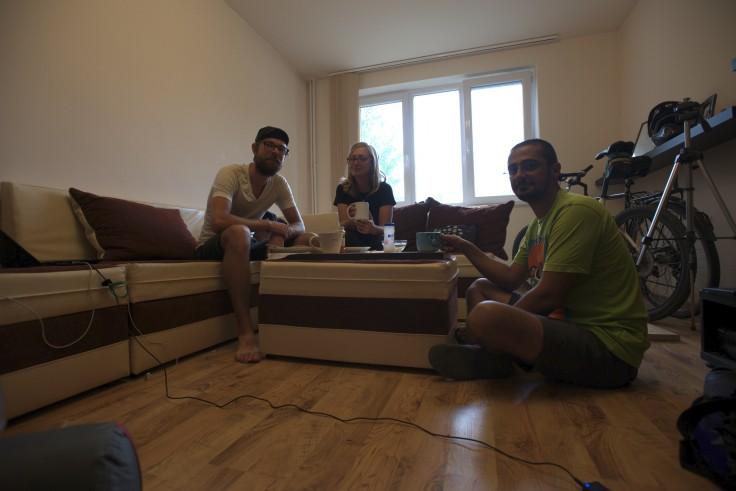 Our gracious host in Oradea
