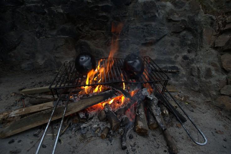 Preparing some Baba-Ganoush