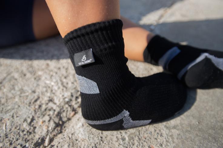 Dry feet are happy feet