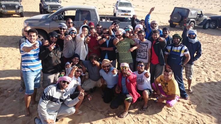 Desert crew