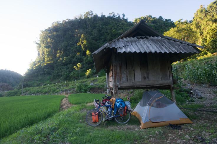 Paddy camping