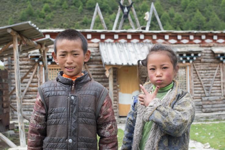 Tibetan kiddos