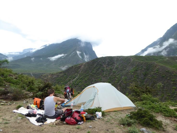 A Gorge-ous camp site...