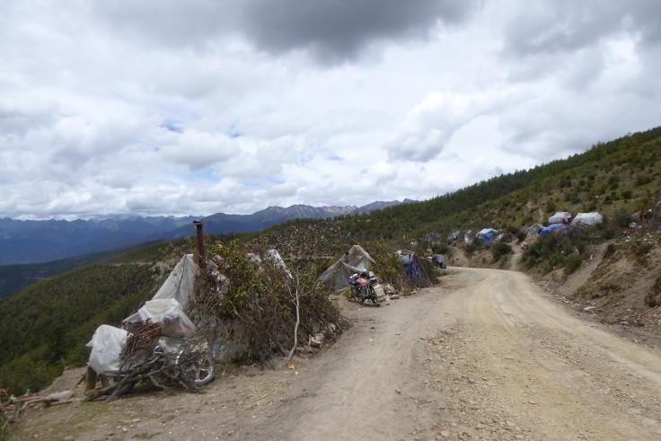 Border shanty town