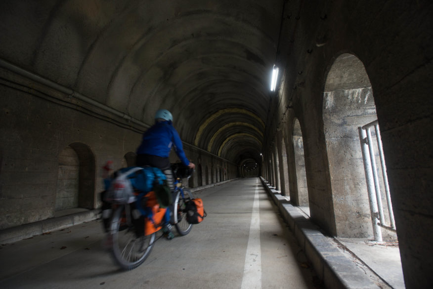 cycling the tunnels